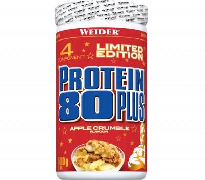 Weider Protein 80 PLUS Dose 500g Pulver, APPLE CRUMBLE, SONDERPOSTEN!