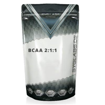 SygLabs BCAA 2:1:1 Beutel 500g Pulver