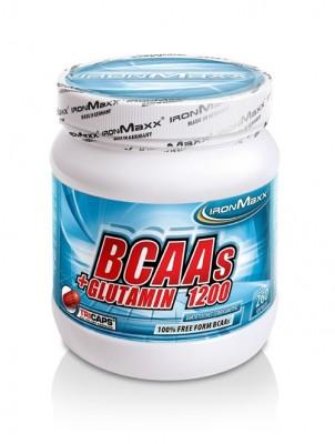 Ironmaxx BCAAs + Glutamin 1200 (260 Tricaps®) Dose 260 Kapseln