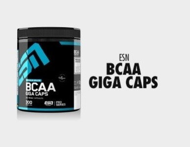 ESN BCAA Giga Caps 300 Stück