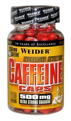 Weider Caffeine Caps Dose 110 Kapseln