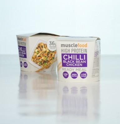 "MuscleFood High Protein ""On The Go"" Ready Meal 350g Fertiggericht tiefgefroren"