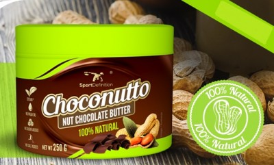 SportDefinition Choconutto Nut Chocolate Butter 250g