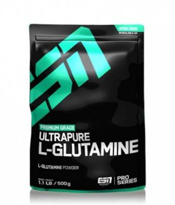 ESN Ultrapure L-Glutamine 500g Pulver Beutel