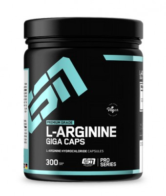ESN L-Arginine Giga Caps 300 Kapseln HCL
