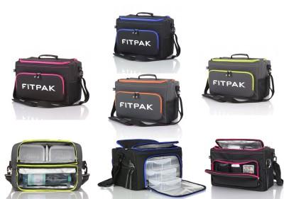 FitPak Fitness und Kühltasche mit 6 Frischhalteboxen INKL. PREISREDUZIERENDEM GUTSCHEIN!