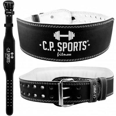 C.P. Sports Gewichthebergürtel Leder schwarz XS-XXXXL