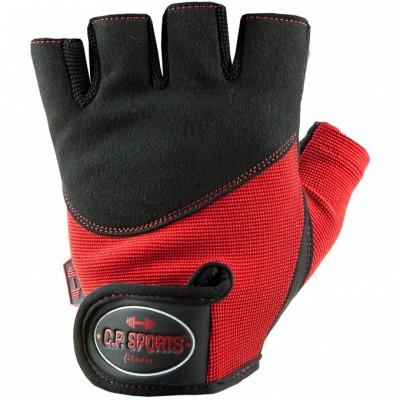 C.P. Sports Iron Handschuh Komfort XS-XL, ROT