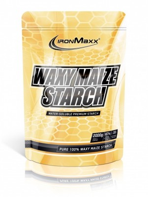 IronMaxx Waxy Maize Starch Beutel 2000g Pulver