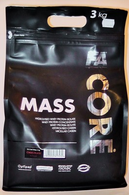 FA Nutrition MASS CORE Gainer Beutel 3000g Pulver