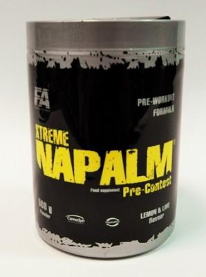 FA Nutrition Xtreme Napalm Pre-Contest Dose 224g Pulver