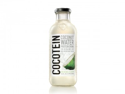 Natures Best Coconut Water Protein Drink 473ml GLASFLASCHE