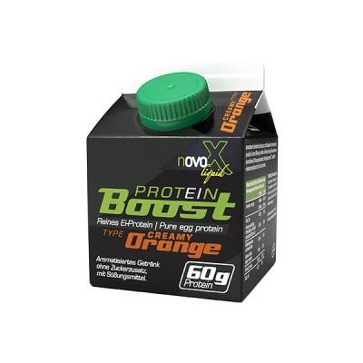 Novo X Protein liquid 300ml 60g Protein reines Ei-Protein! (ehemals liquid Protein Boost)
