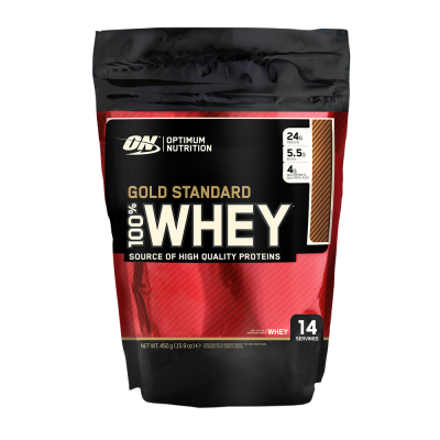 Optimum Nutrition Gold Standard 100% Whey Beutel 450 g Pulver