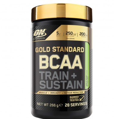 Optimum Nutrition Gold Standard BCAA Train + Sustain 266g Dose