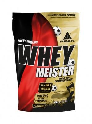 Peak Whey Meister Beutel 1000g Pulver (Whey Selection) NEUE SORTEN!