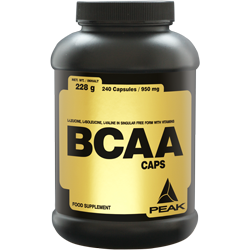 Peak BCAA Caps Dose 240 Kapseln