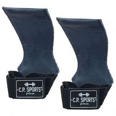 C.P. Sports Power Pads Komfort Zughilfen schwarz