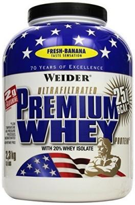 Weider Premium Whey Dose 2300g Pulver Fresh Banana oder Stracciatella