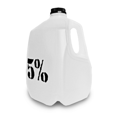 5% Nutrition Gallone Trinkflasche 3,78L Gymbottle Water Jug