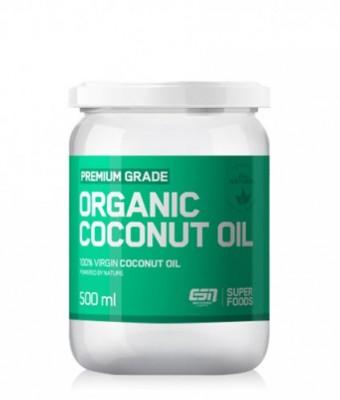 ESN Premium Grade Organic Coconut Oil 500ml Glas
