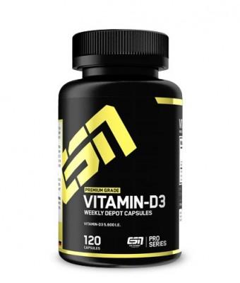 ESN Vitamin-D3 120 Kapseln
