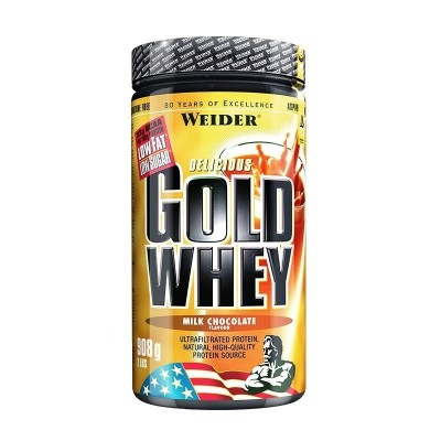 Weider Gold Whey Dose 908g Pulver Strawberry Cream